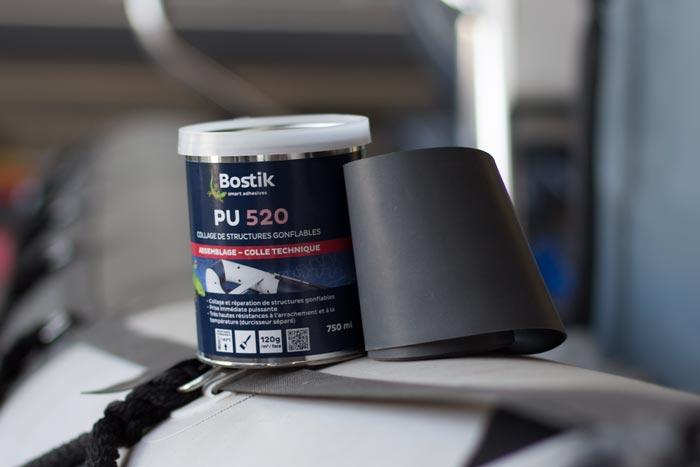 Comment réparer un flotteur pneumatique en tissu PVC